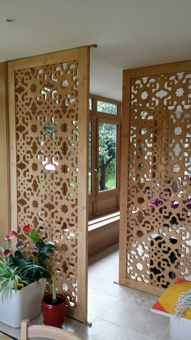 Separation Piece Salon Screen Screen Bedroom Room Partition Designs Living Room Partition Design Elegant Interiors #screens #for #living #room