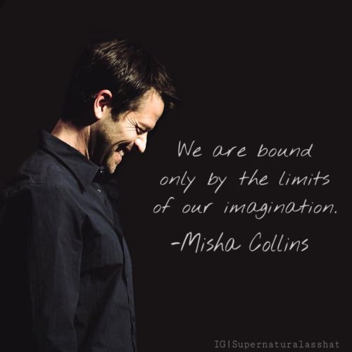 Misha Collins quote