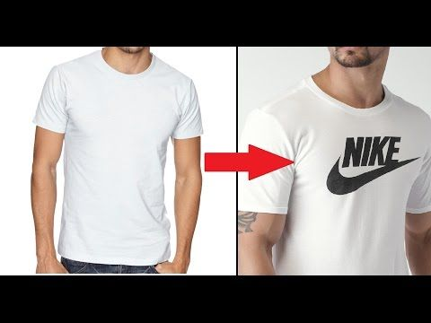 4280e8fdb (6) Make Your Own DIY Custom Brand T-Shirt Without Transfer Paper Tutorial  - YouTube