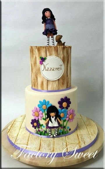 Cake Art By Suzanne : 132 best images about Gorjuss Cakes on Pinterest Cake ideas, Cake decorating and Fashion cakes