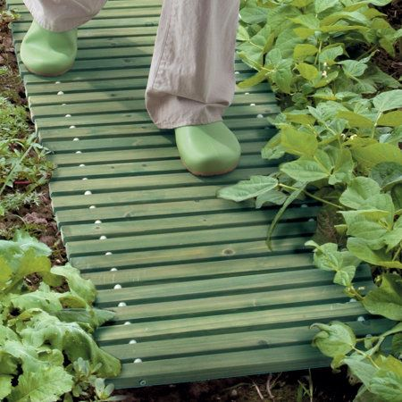 Portable Wooden Walkways-Set of 2