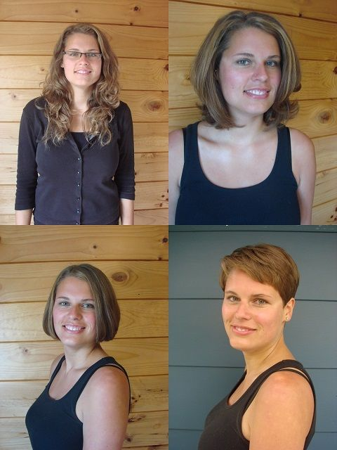 What Hairstyle Should I Get 130 Best Hair Before And After Haircuts Images On Pinterest  Short