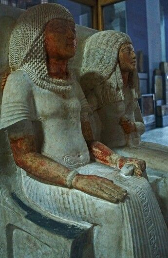 at the Egyptian Museum, Cairo - EGYPT.