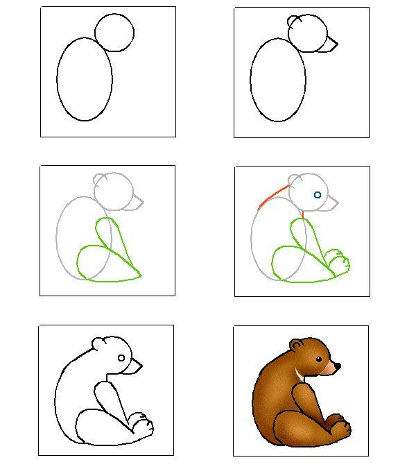 17 beste afbeeldingen over sprookje goudlokje en de drie beren beren in boeken op pinterest - Apprendre a dessiner des chevaux ...
