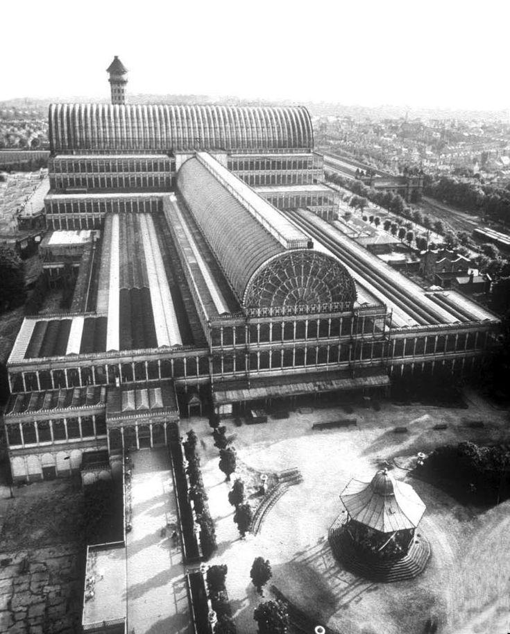 Crystal Palace, Joseph Paxton, London, England. Pour la première exposition universelle en 1851