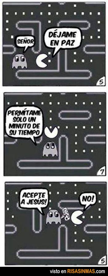 La verdadera historia de Pacman