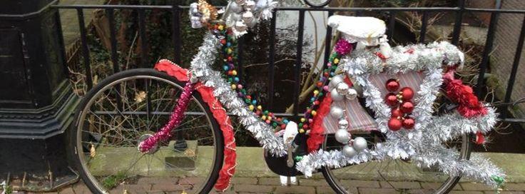 Ook met de Kerstdagen een nieuwe versiering.