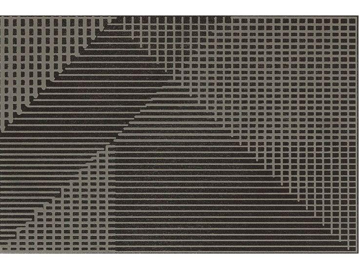 Revêtement de sol/mur en grès cérame TIERRAS INDUSTRIAL FRAME HUMUS Collection TIERRAS by MUTINA | design Patricia Urquiola