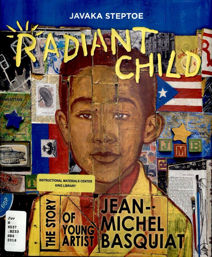 Radiant Child- Written and Illustrated by Javaka Steptoe