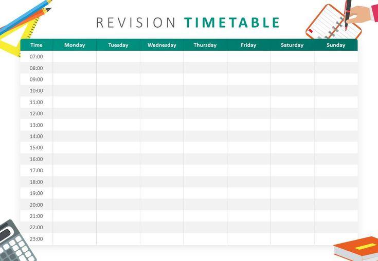 powerpoint schedule