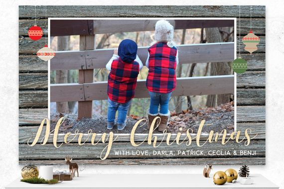 Christmas Card  Custom Holiday Card  Digital by IspiratoPrintables