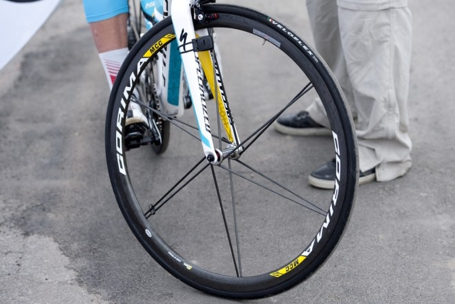 Climbing gear at the Giro, Gallery from Velonews. The latest weapons in the cyclist's never ending war against gravity.
