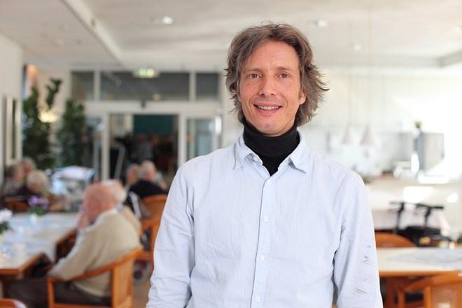 Andre Steenbeek, verpleegkundig ondersteuner bij Careyn