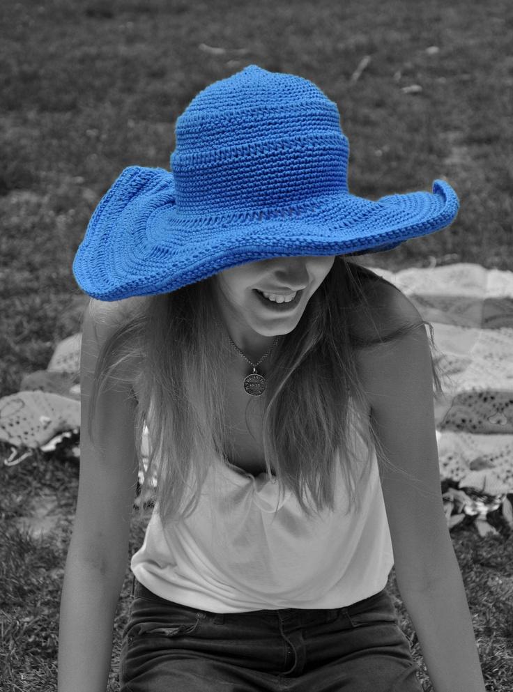 Chapéu em crochet