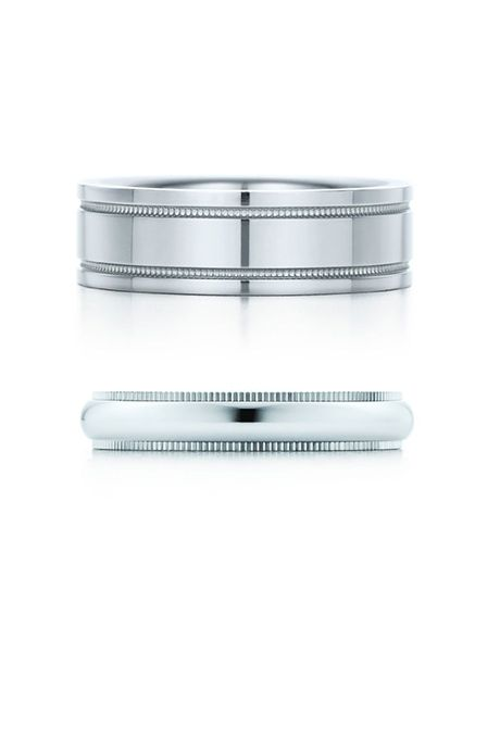 Sponsored: Milgrain Wedding Band Ring, Tiffany & Co.; Milgrain Wedding Band Ring; @tiffanyandco