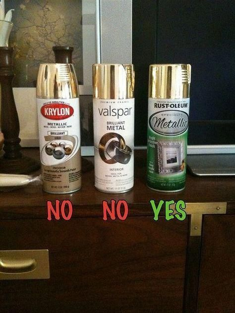 the good gold spray paint good to know bestdiyhomedecor best diy rh pinterest com best spray can paint for a car