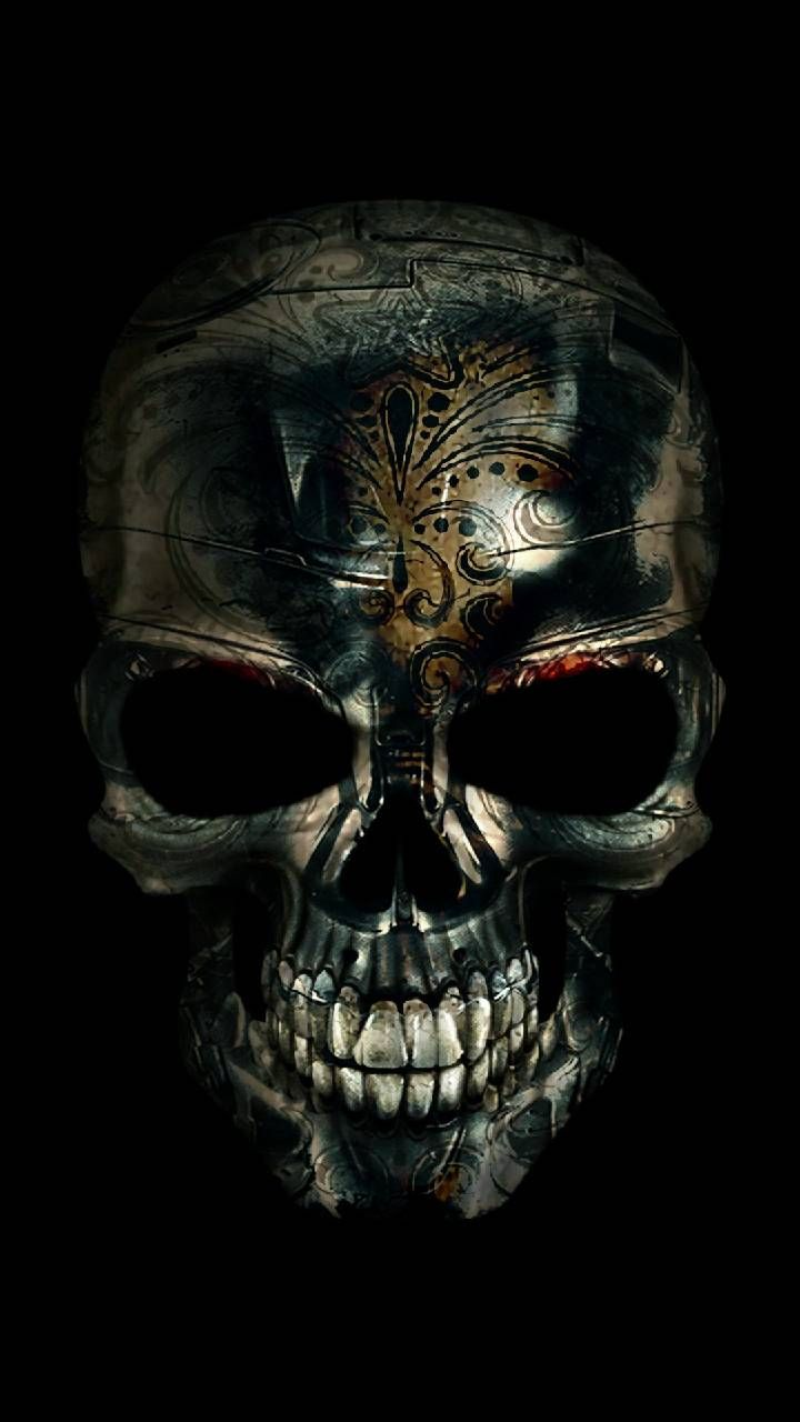 Download Goldstain Skull Wallpaper By Wayneyergy 1a Free On Zedge Now Browse Millions Of Popular Gold Wallpap Skull Wallpaper Sugar Skull Wallpaper Skull