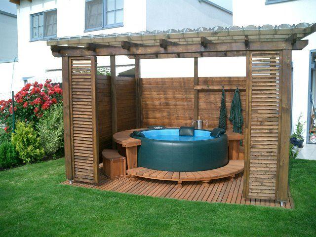 8 best Vířivka na zahradě images on Pinterest Garten, Decks and