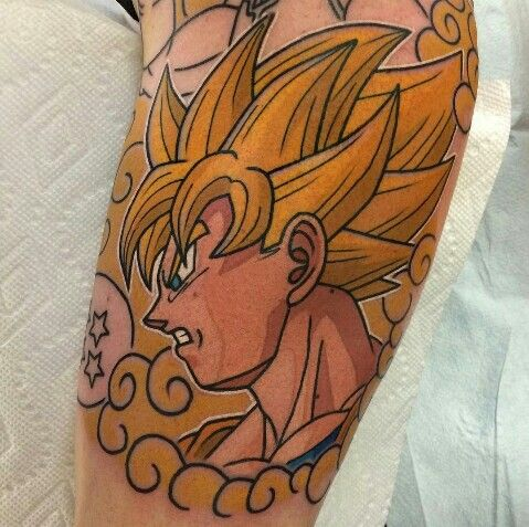 17 Best Images About Dbz Tattoos On Pinterest Kid
