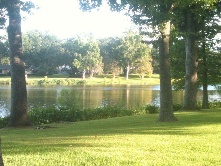 LSU - University Lakes, great place to walk, run, bike