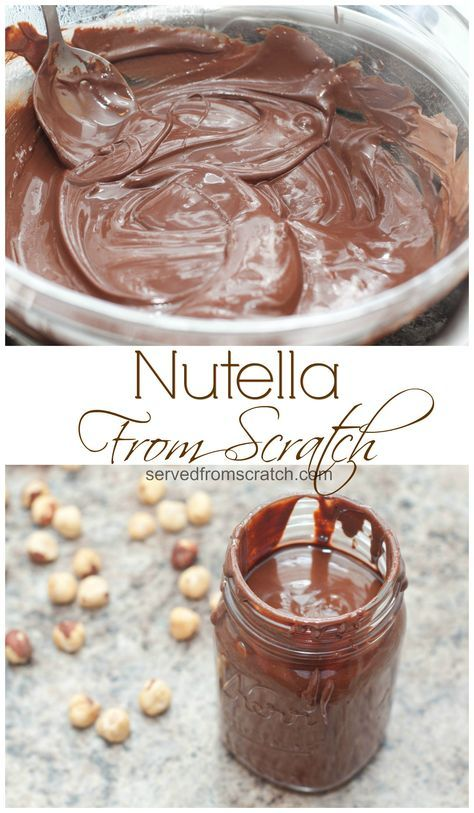 Homemade Nutella is dangerously easy to make at home from scratch and just as delicious!