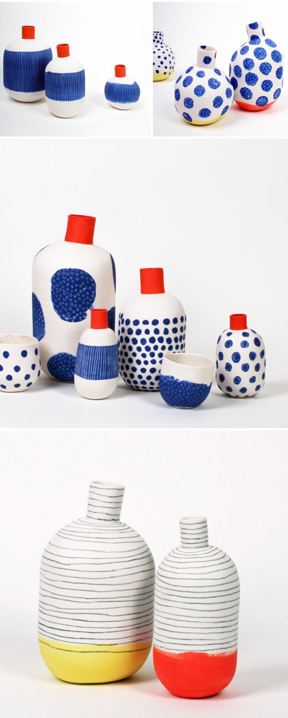 ceramics by éric hibelot & jean-marc fondimare