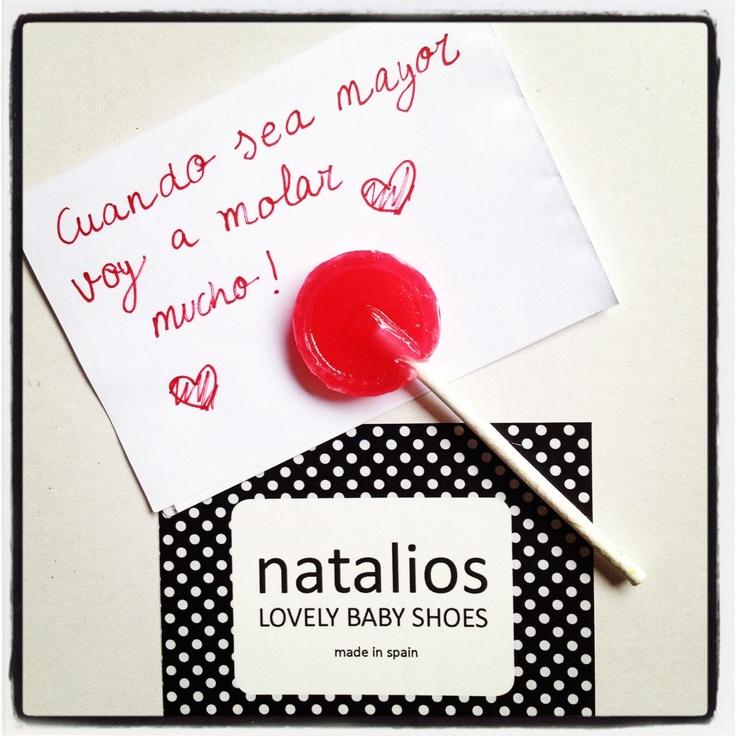 Natalios www.natalios.com destina el 3% de sus ventas a la Fundación Menudos Corazones www.menudoscorazones.org ❤