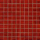Emil Satin Rosso Mosaico 31.5x31.5 cm