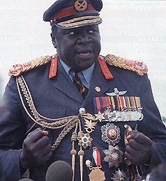 Idi Amin Dada  ' 25  ' 03) President of Uganda,  ' 71 to ' 79). Description from pinterest.com. I searched for this on bing.com/images