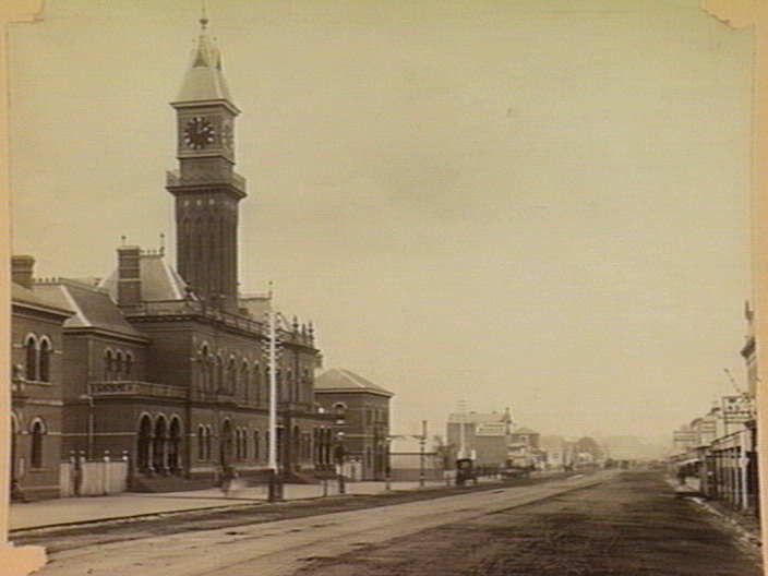 South Melbourne Town Hall, 1880s