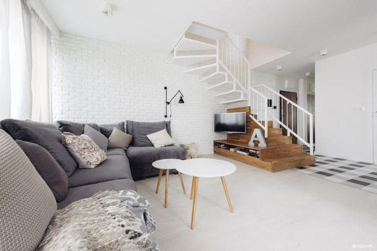 Jasne mieszkanie w stylu skandynawskim- we Wrocławiu