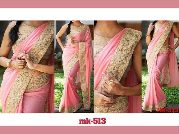 Savvys Saree Bollywood Indian Designer Party wear Lehenga Sari Pakistani MK 513 #SavvysStore #Saree