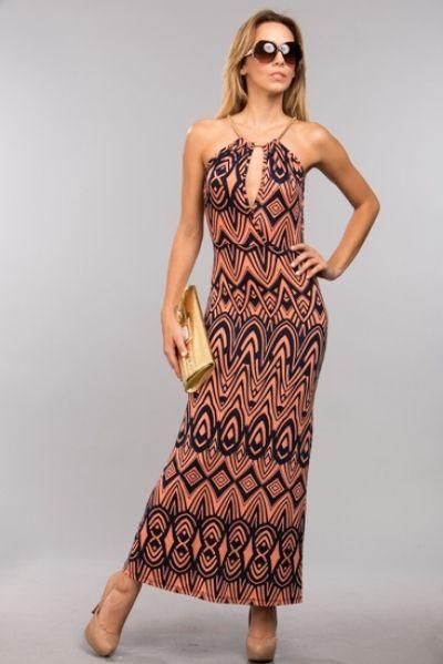Bohemian-Inspired Maxi Dress AUD$47.87 + Free express shipping