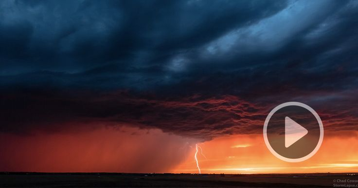 For the last decade, Kansas-based photographer Chad Cowan has driven almost 100,000 miles across the United States chasing powerful supercell thunderstorms and recording them in high definition. The endeavor began as a personal project to capture a few storms as they developed but quickly grew into