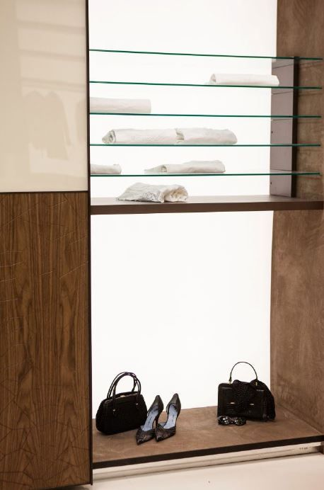 Details inside one of #benedetti #wardrobes. This is from the excellent Butterfly collection.