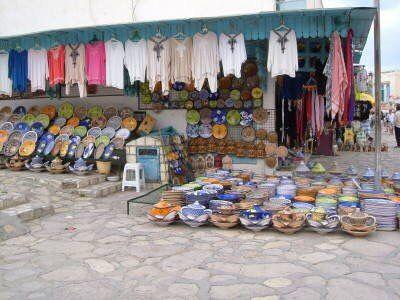 Tunisian Market, Tunisa