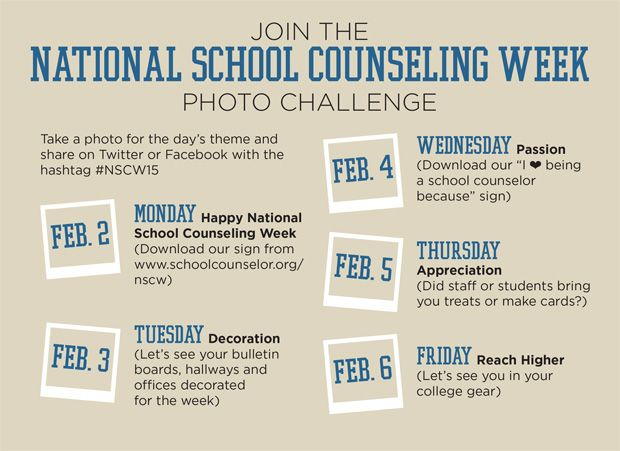National School Counseling Week | American School Counselor Association (ASCA)