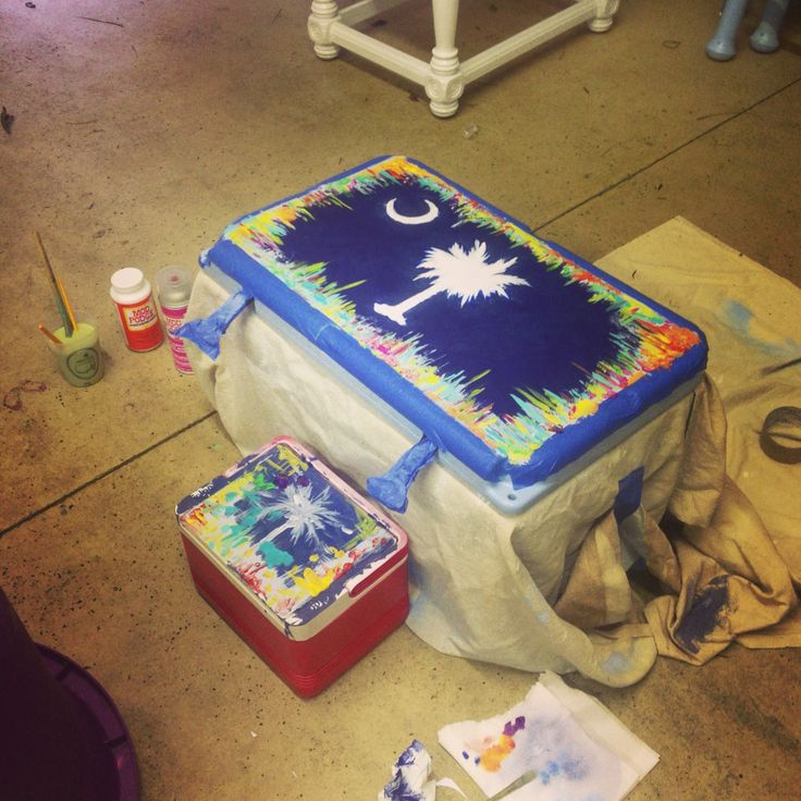 Cooler painting