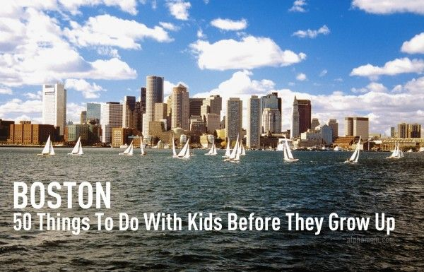 Nice list of things to do with your kids in Boston (open in the spring: Belkin Family Lookout Farm)