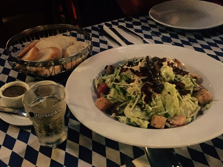 Malaysian Caesar salad