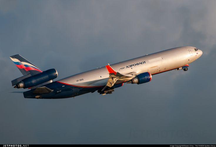 High quality photo of VP-BDQ (CN: 48504) Aeroflot McDonnell Douglas MD-11(F)