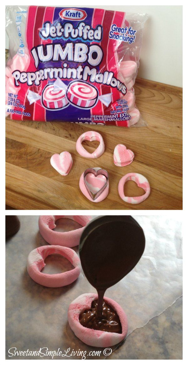 Valentine's Day Ideas: Hot Chocolate Bar from SweetandSimpleLiving.com