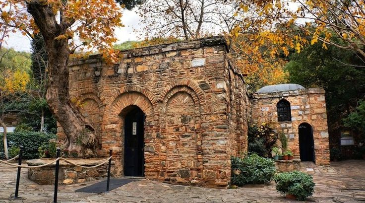 House of the Blessed Virgin Mary in Ephesus, Turkey found through Blessed Anne Catherine Emmerich's visions.
