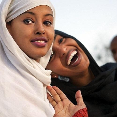 Somali women. According to the link, these young women recently won the Medeshi beauty contest in Somalia