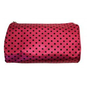 Our elegant Travel Cosmetic Bags are perfect for carrying your favorite cosmetic items on-the-go! These travel cosmetic bags are spacious enough to fit multiple makeup items, yet are small enough to f