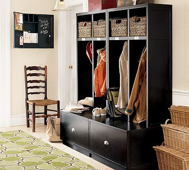 @Mathew Rhodes Corthell - We should make built-ins like these for our front hall closet!