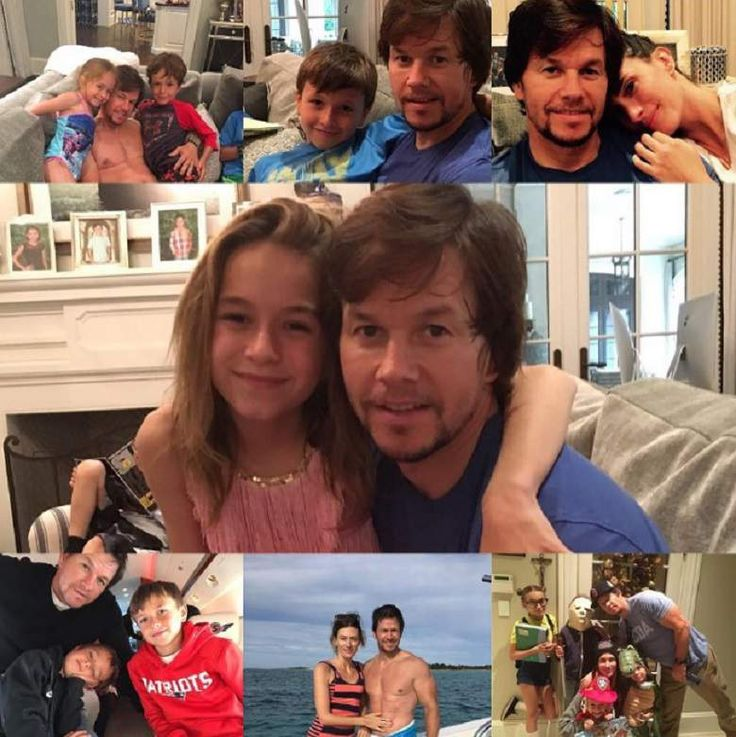 mark wahlberg kids