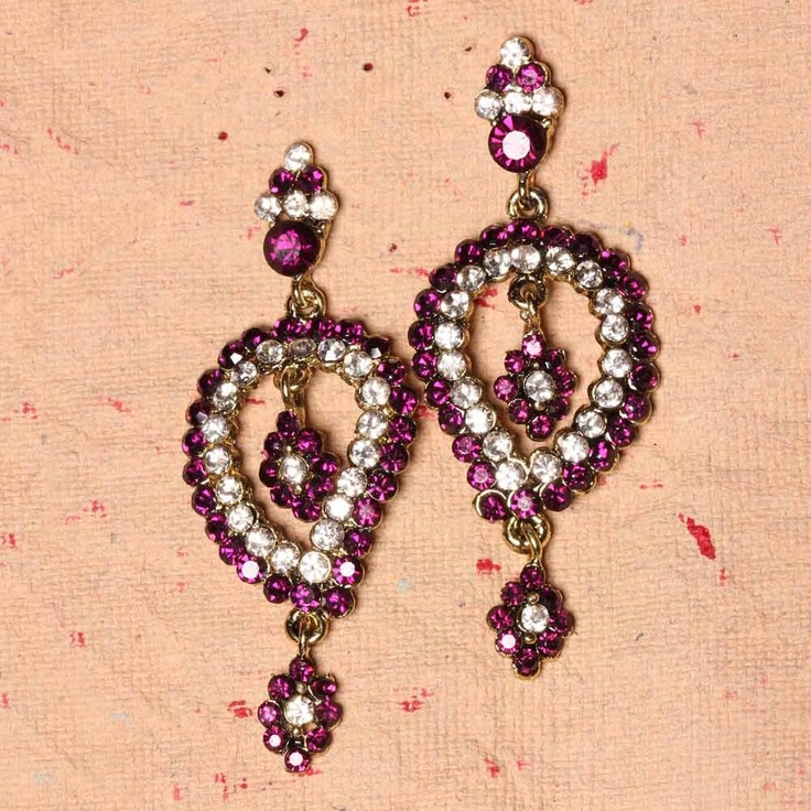 The stylish dangler earring with floral design is sure to compliment all your ensembles beautifully. Make some heads turn as you walk the street wearing this extremely chic and fashionable piece of jewelry.      Fashion Statement      Team it up with your favorite ethnic outfits like lehenga, suits, saris, and kurtis for the oh-so-beautiful look. You can also jazz up your western wears with it.