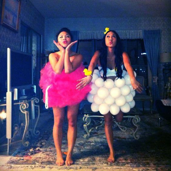 DIY Bubble Bath & Loofah Costume | Your Costume Idea for Halloween, Mardi Gras and Carnival