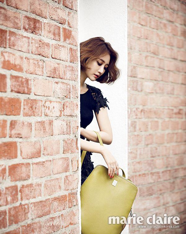2014.03, Marie Claire, Go Jun Hee